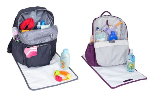 Maternity Sport Backpack Jeans & Pro Backpack Morado