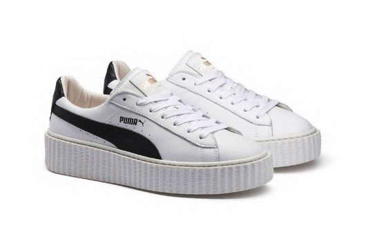Creeper White Leather