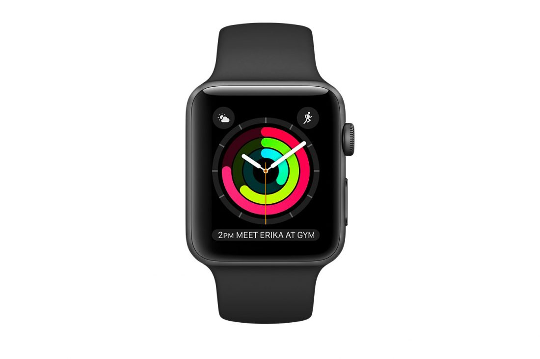Apple Watch Space Gray Aluminum Case