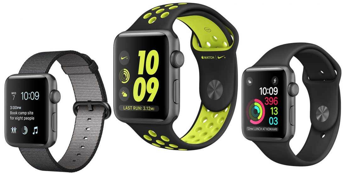 Modelos Apple Watch Series 2