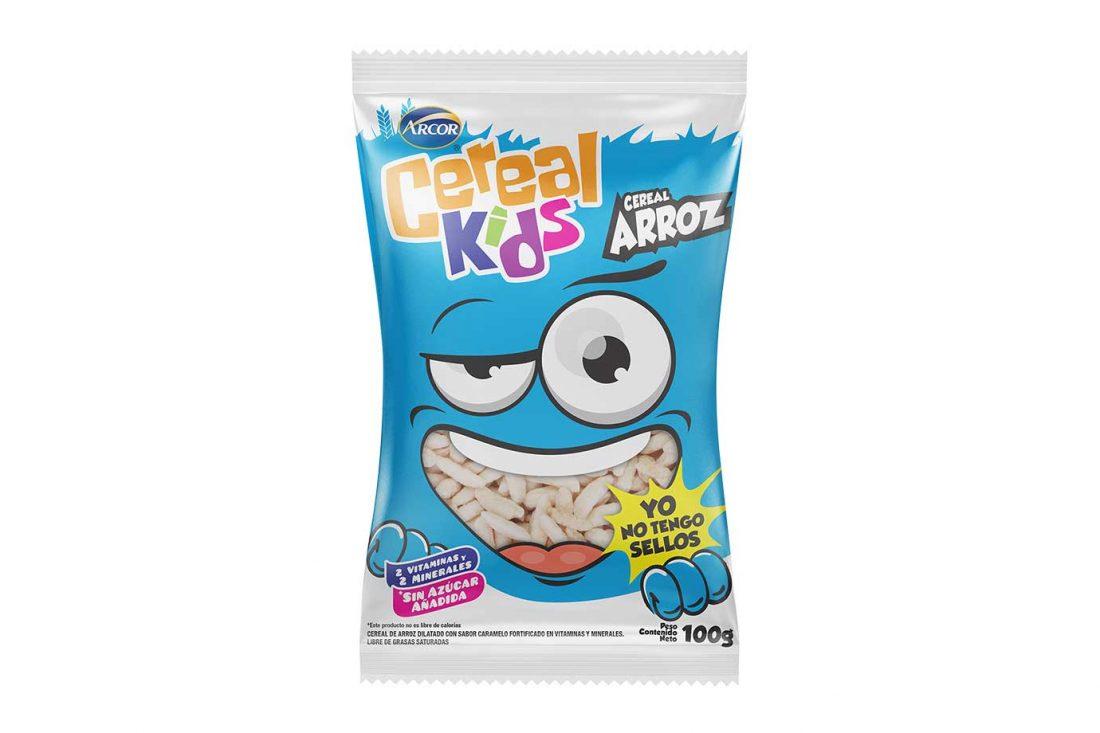 Cereal Kids y sus dos líneas: Cereales para el desayuno y cereales inflados