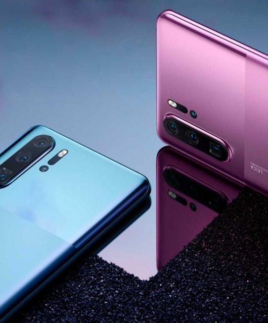 Huawei presenta en Chile los nuevos colores de la Serie P30