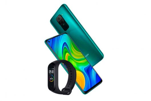 Redmi Note 9 64 GB y de regalo una Mi Smart Band 4